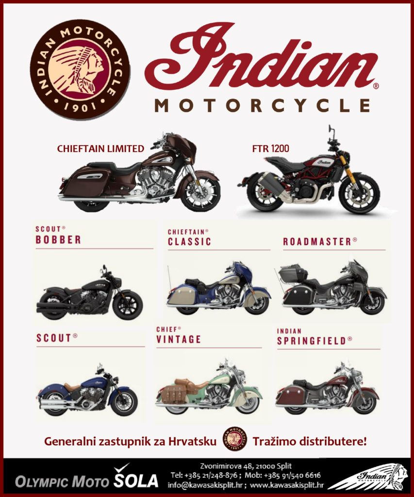 Olympic Moto Šola - Indian Motorcycle